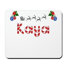 Kaya, Christmas Mousepad