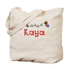 Kaya, Christmas Tote Bag