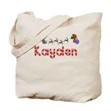 Kayden, Christmas Tote Bag