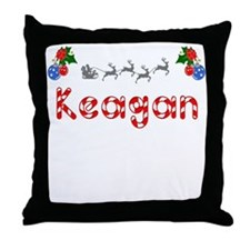 Keagan, Christmas Throw Pillow