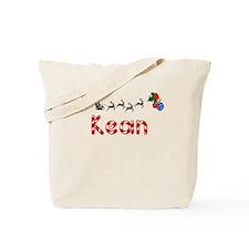 Kean, Christmas Tote Bag