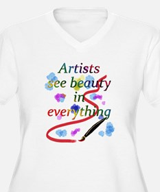 Artists See Beauty T-Shirt
