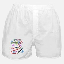 Artists See Beauty Boxer Shorts