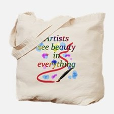 Artists See Beauty Tote Bag