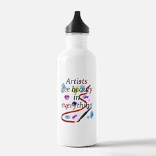 Artists See Beauty Water Bottle