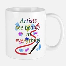 Artists See Beauty Mug