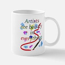 Artists See Beauty Small Small Mug