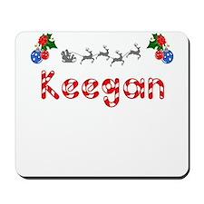 Keegan, Christmas Mousepad