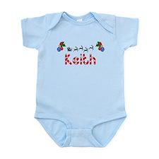 Keith, Christmas Infant Bodysuit