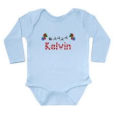 Kelvin, Christmas Long Sleeve Infant Bodysuit