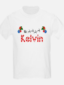 Kelvin, Christmas T-Shirt
