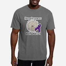 Homelessness Blows Aware Mens Comfort Colors Shirt