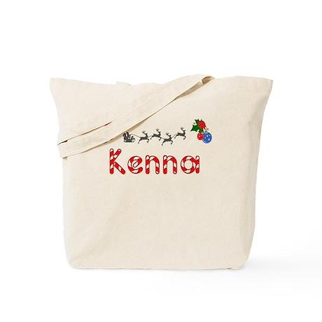 Kenna, Christmas Tote Bag