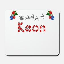 Keon, Christmas Mousepad