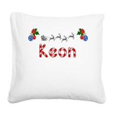 Keon, Christmas Square Canvas Pillow