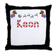 Keon, Christmas Throw Pillow
