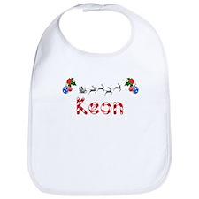 Keon, Christmas Bib