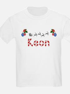 Keon, Christmas T-Shirt