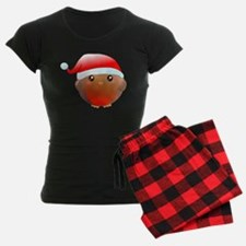 Christmas robin bird Pajamas