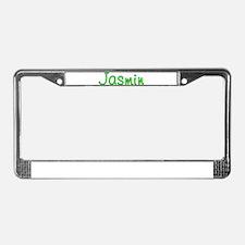 Jasmin Glitter Gel License Plate Frame