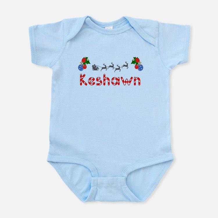 Keshawn, Christmas Infant Bodysuit
