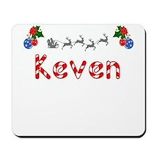 Keven, Christmas Mousepad