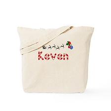 Keven, Christmas Tote Bag