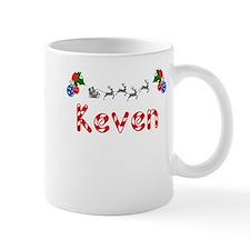 Keven, Christmas Small Mug