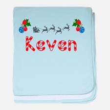 Keven, Christmas baby blanket