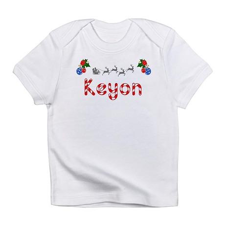 Keyon, Christmas Infant T-Shirt