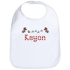Keyon, Christmas Bib