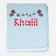 Khalil, Christmas baby blanket