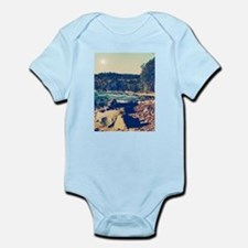 Rocky Shores of Lake Superior Infant Bodysuit