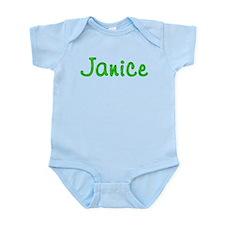 Janice Glitter Gel Infant Bodysuit