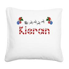 Kieran, Christmas Square Canvas Pillow