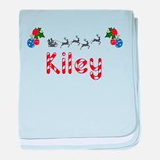 Kiley, Christmas baby blanket