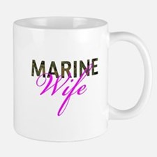 Marine Wife Woodland Mug