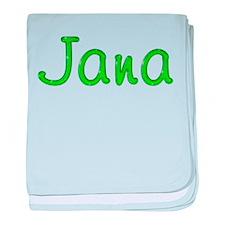 Jana Glitter Gel baby blanket