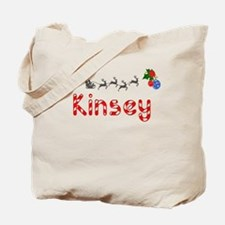 Kinsey, Christmas Tote Bag