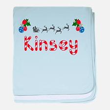 Kinsey, Christmas baby blanket