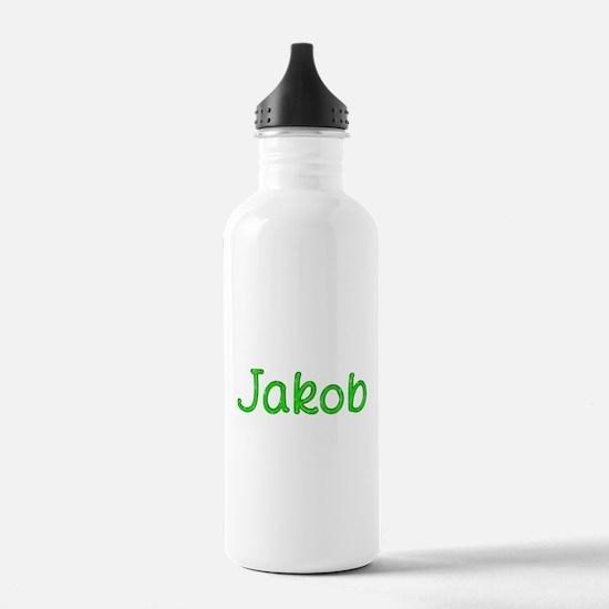 Jakob Glitter Gel Water Bottle