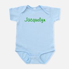 Jacquelyn Glitter Gel Infant Bodysuit