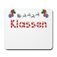 Klassen, Christmas Mousepad