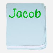 Jacob Glitter Gel baby blanket