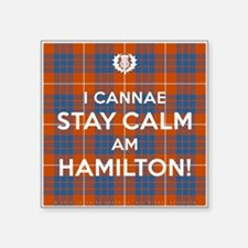"""Hamilton Square Sticker 3"""" x 3"""""""