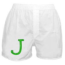 J Glitter Gel Boxer Shorts