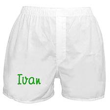 Ivan Glitter Gel Boxer Shorts