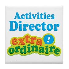 Activities Director Tile Coaster