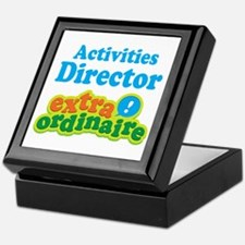 Activities Director Keepsake Box