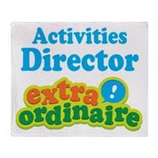 Activities Director Throw Blanket